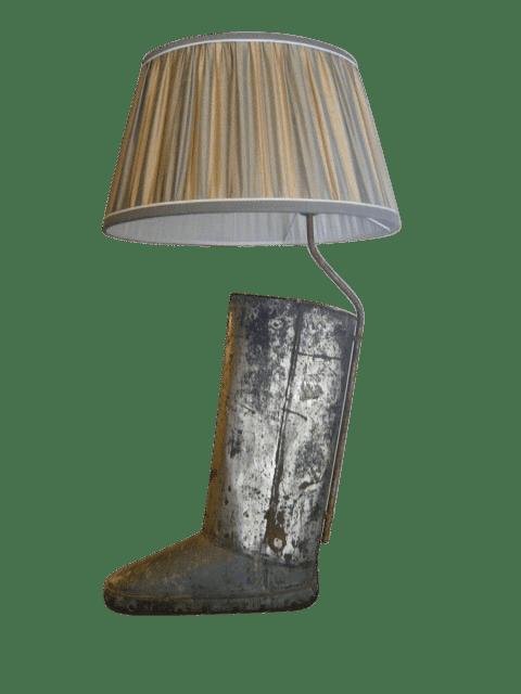 Portaombrelli A Forma Di Stivale.Ogg9200 Lampada Realizzata Da Un Vecchio Portaombrelli A Forma Di Stivale Brocante Riccardo Barthel
